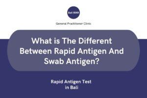 Rapid antigen test in bali